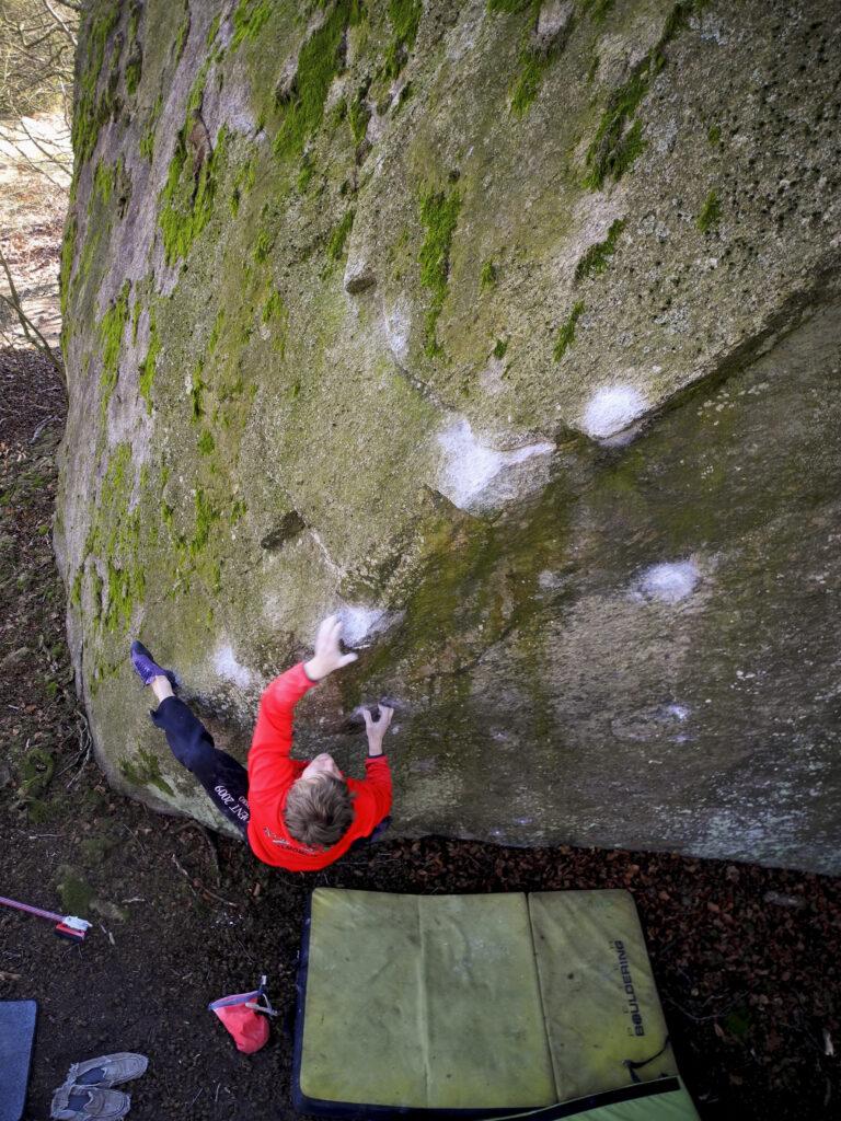 Sick'ard – Photo: Bernhard Viewager, Climber: Simon Andersson