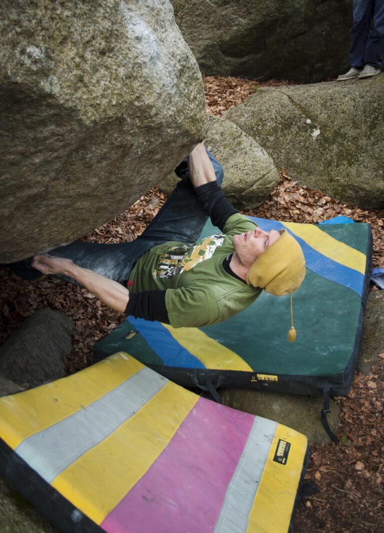 Ken Titan – Photo: Cajsa Björkén, Climber: Anders Björkén