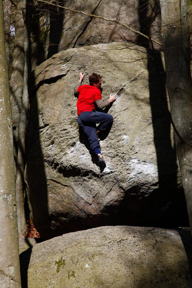 Schweizerosten – Photo: Fredrik Rapp, Climber: Henrik Sundahl