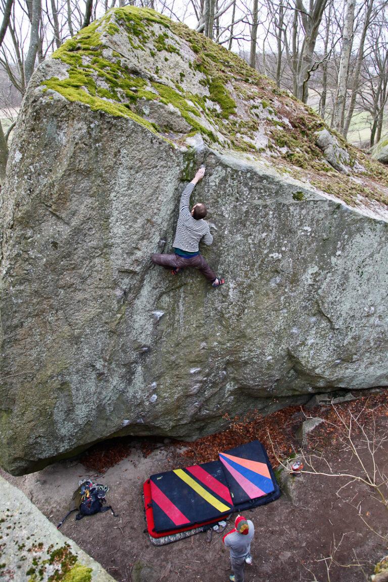 Linds långa linje – Photo: Fredrik Rapp, Climber: Henrik Sundahl