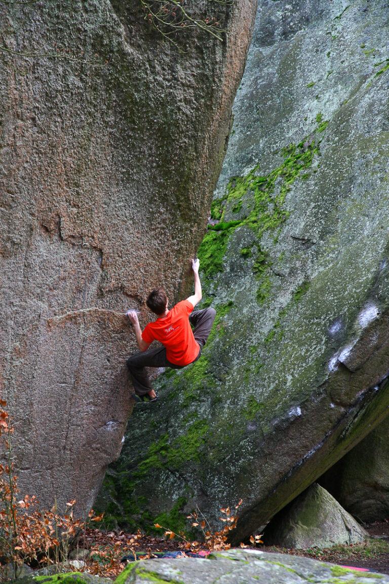 Alla vill till himmelen – Photo: Fredrik Rapp, Climber: Carl-Ola Boström