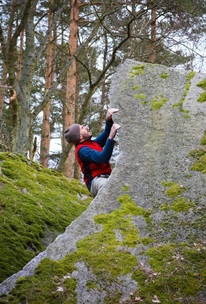 Splinter – Photo: Jonas Persson, Climber: Dan Gärdenfors