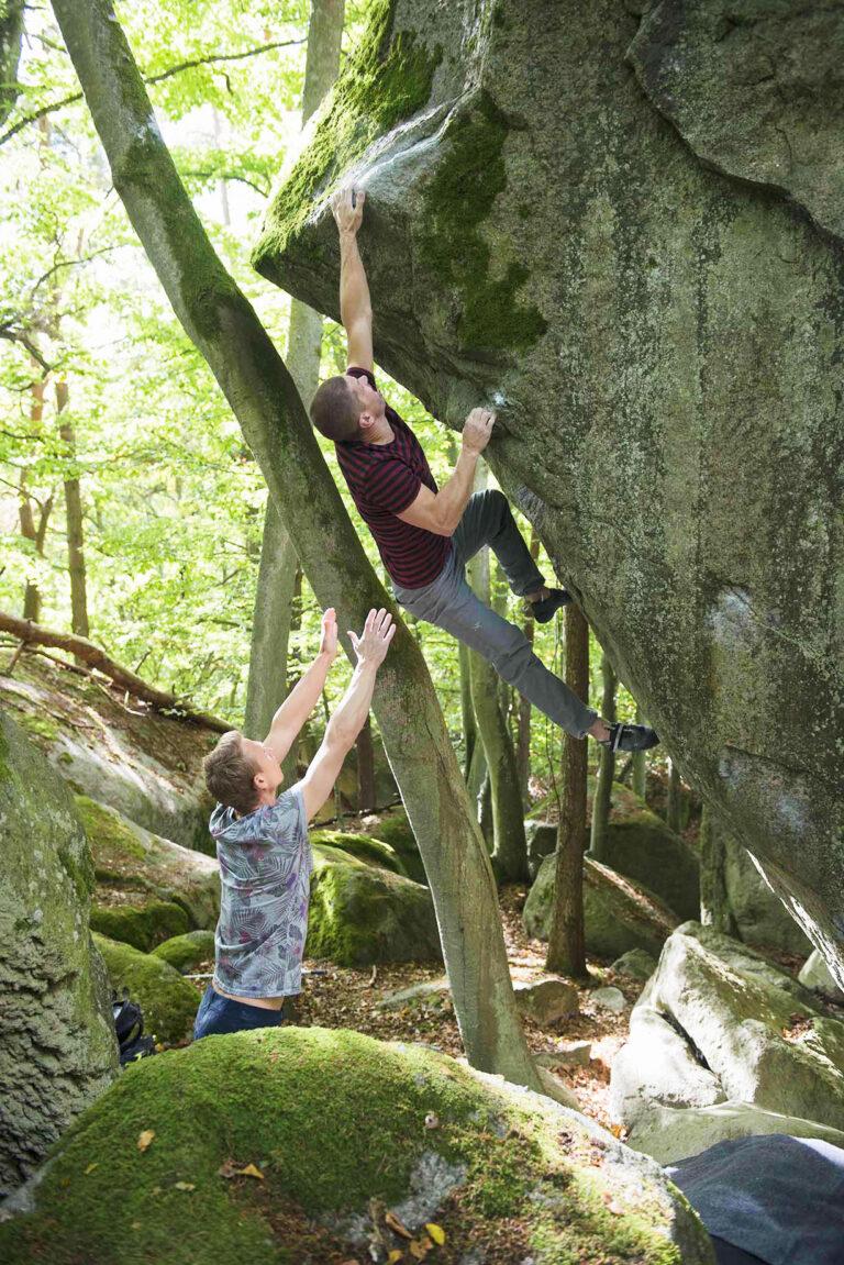 Stress – Photo: Erik Karlsson, Climber: Harald Bohlin
