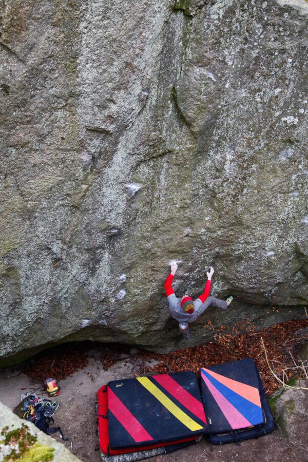 Photo: Fredrik Rapp, Climber: Christopher Andersson