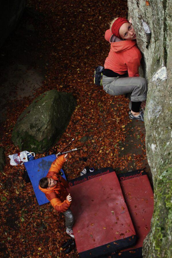 Photo: Benjamin Linné Ryn, Climber: Hanne Riise