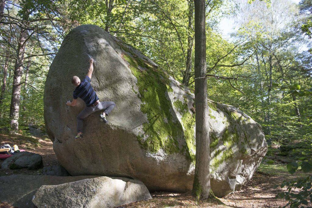 Photo: Erik Karlsson, Climber: Harald Bohlin