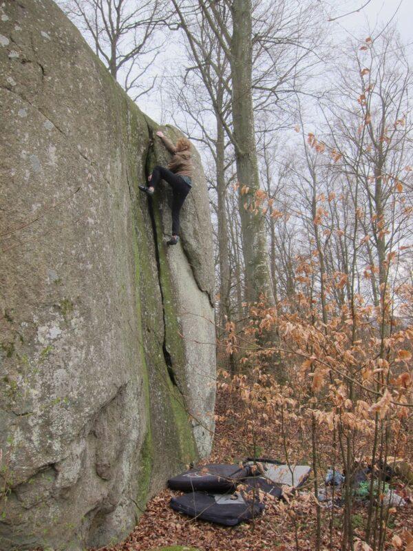 Photo: Marcello Mårtensson, Climber: Carl Nilsask
