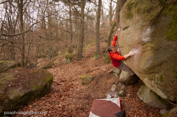 Photo: Per Ola Andersson, Climber: unknown