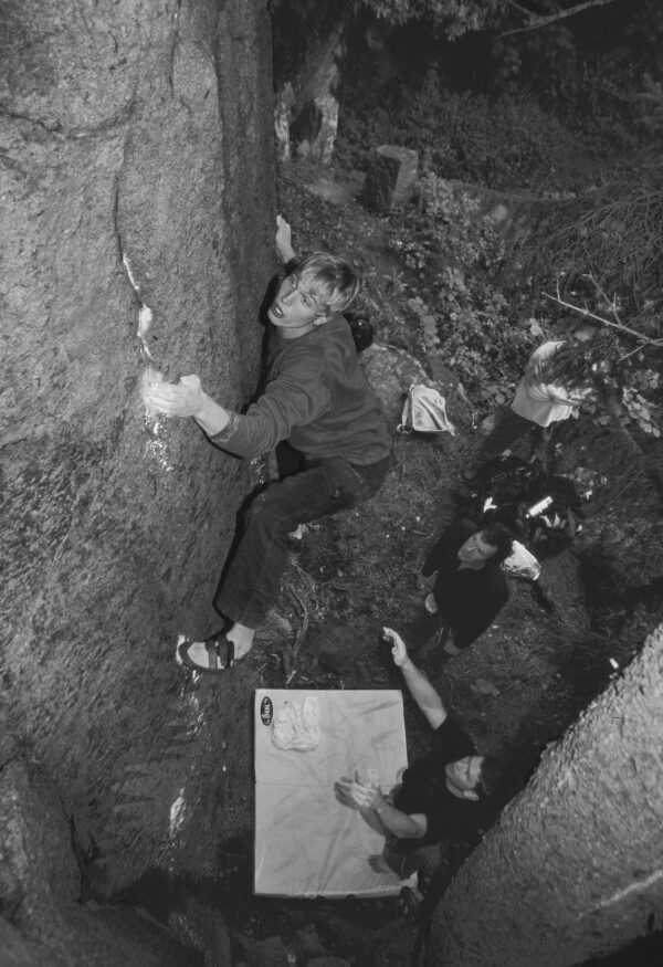 Climber: Gustav Kamf