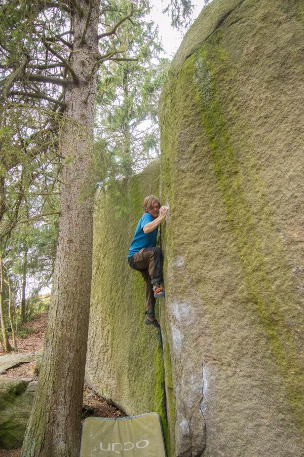 Photo: Anders Gustafsson, Climber: Olof Strid