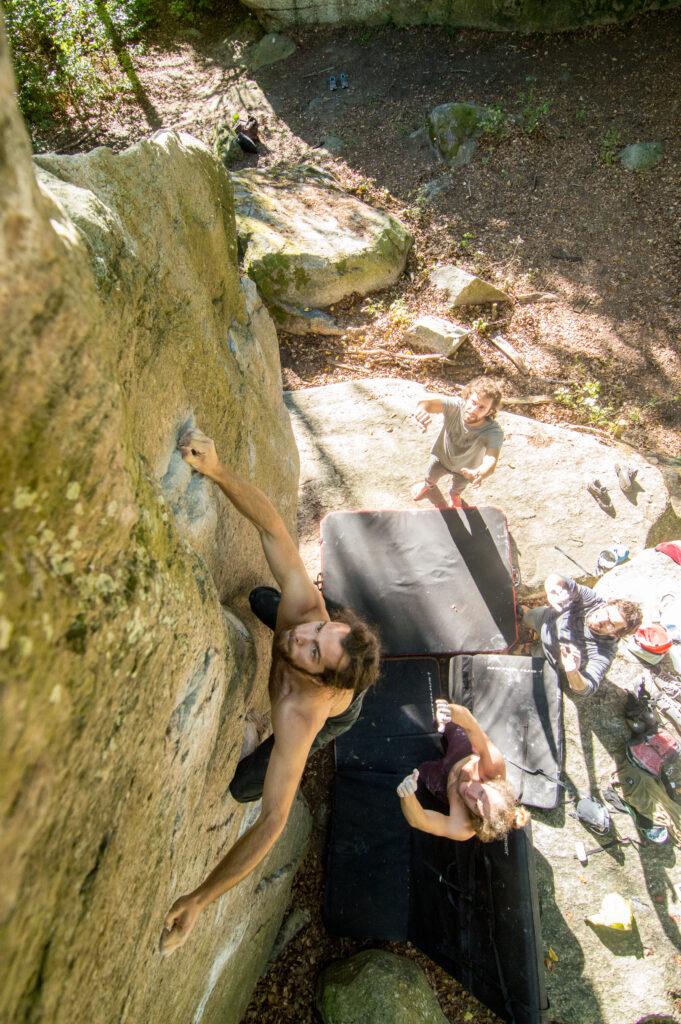 Photo: Anders Gustafsson, Climber: Alexander Betsholtz