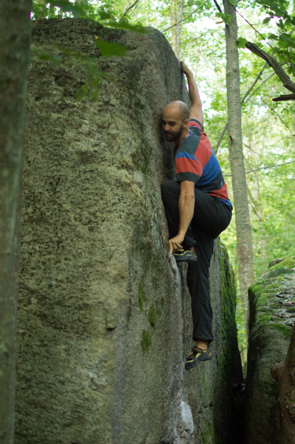Climber: Anders Gustafsson