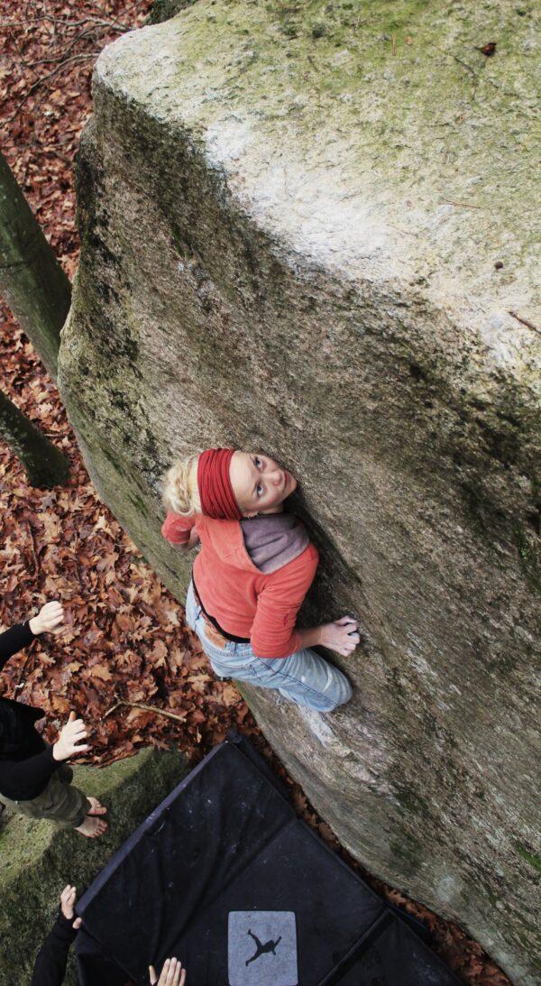 Photo: Christoffer Stigberg, Climber: Hanne Riise