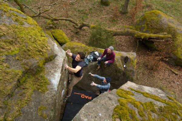 Photo: Anders Gustafsson, Climber: Johannes Kraft