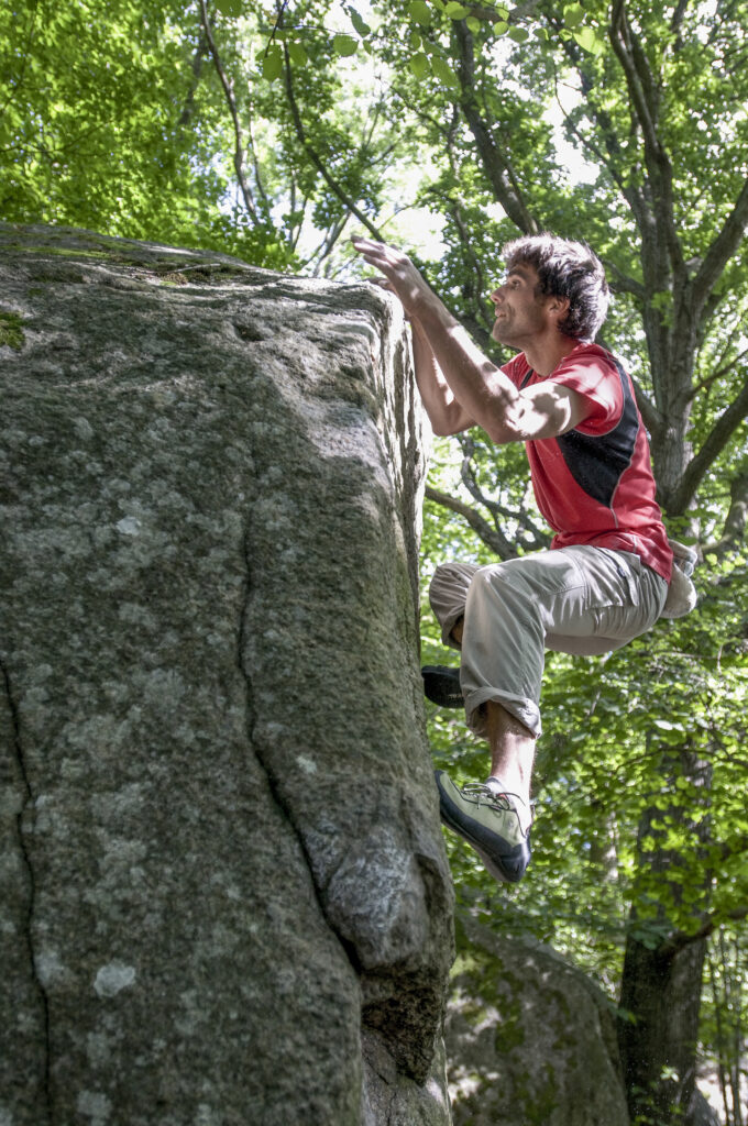 Photo: Erik Karlsson, Climber: Daniel Ehmann
