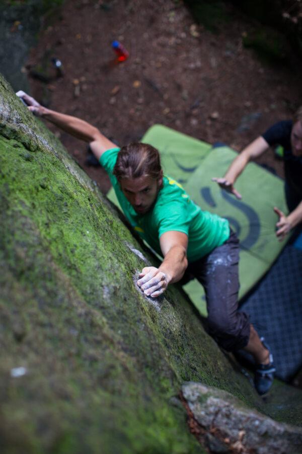 Photo: Simon Månsson, Climber: Max Bäckström