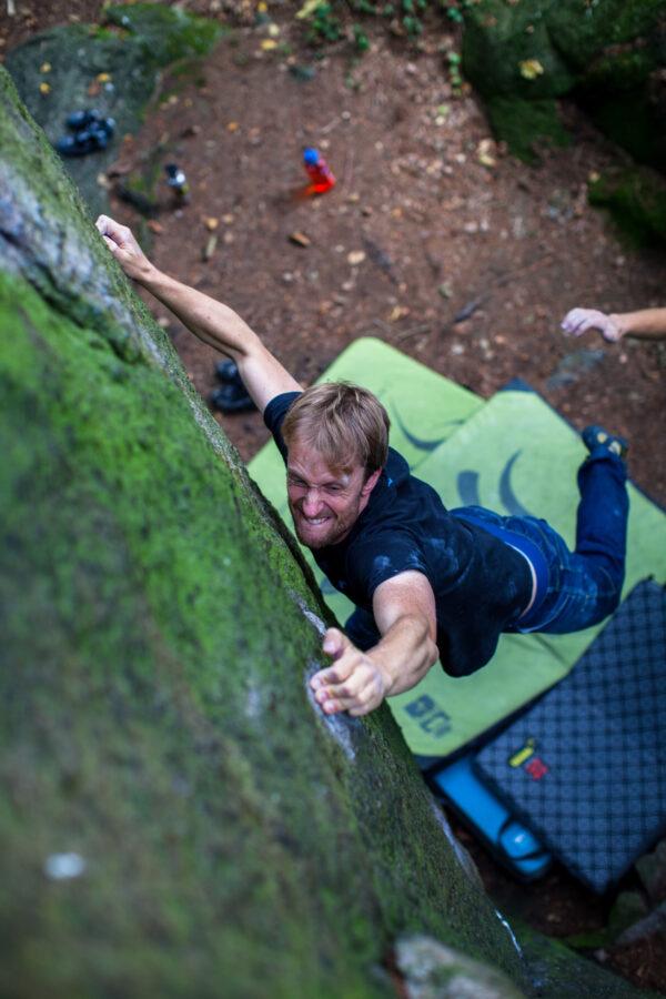 Photo: Simon Månsson, Climber: Fredrik Mattisson