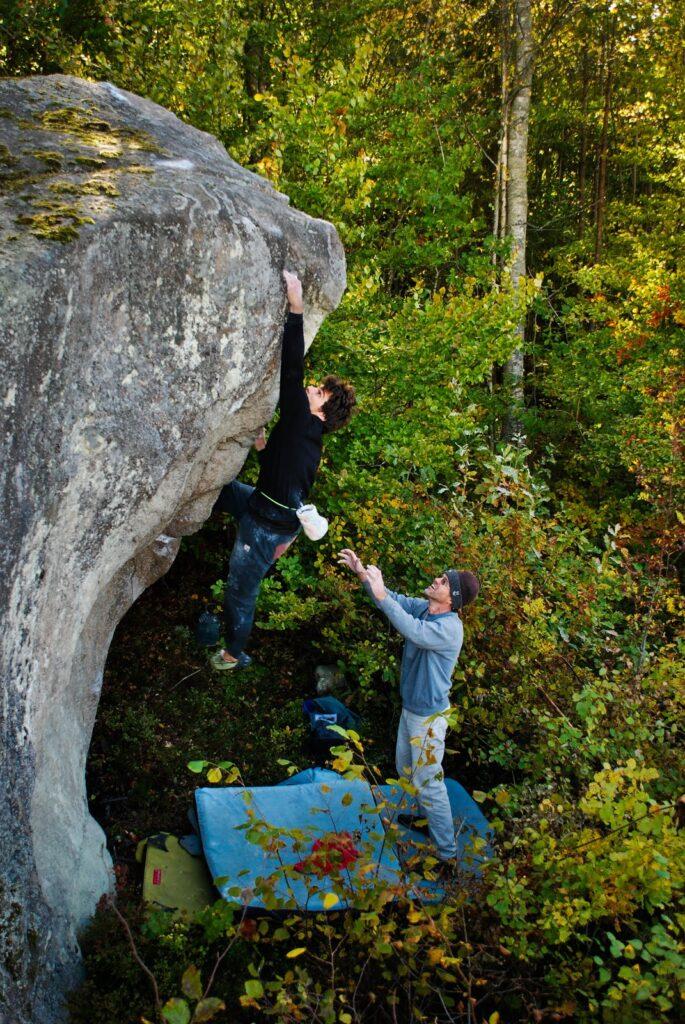 Photo: Ola Modéer, Climber: Daniel Ehmann