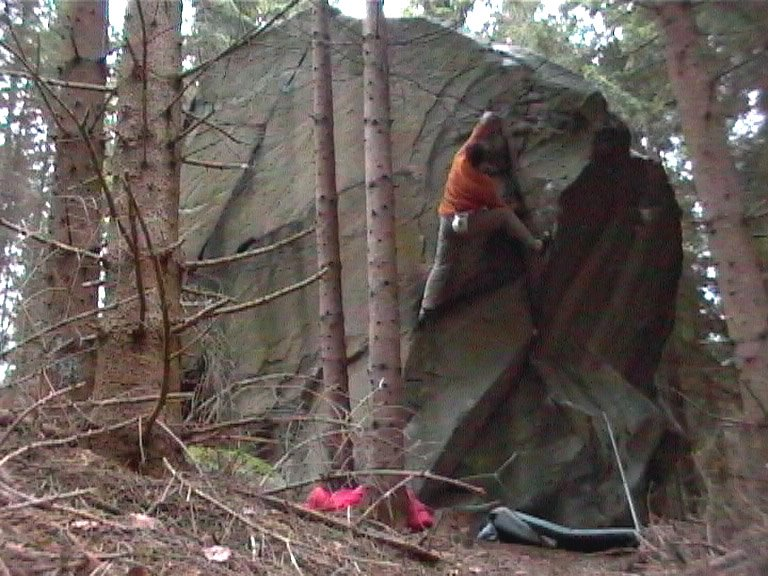 Climber: John Burgess