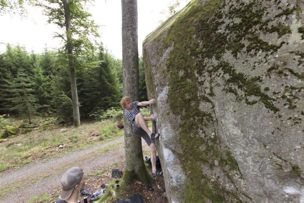 Photo: Magnus Cederberg, Climber: Carl Nilsask