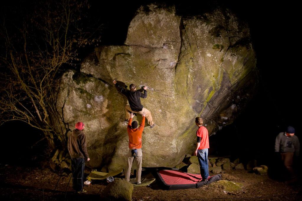 Photo: Fredrik Rapp, Climber: Erik Grandelius