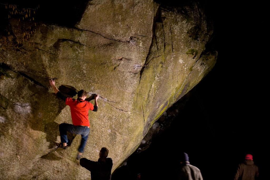 Photo: Fredrik Rapp, Climber: Martin Fransson