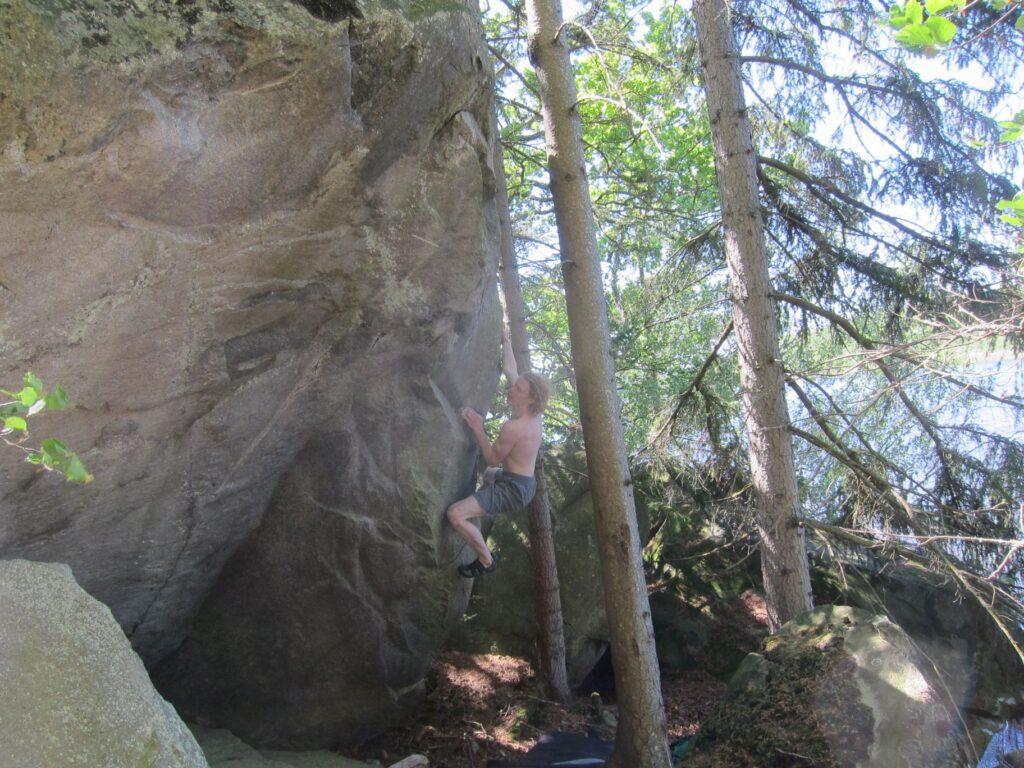 Climber: Carl Nilsask