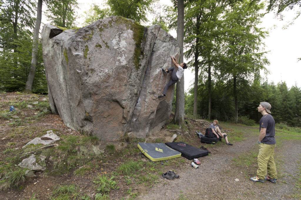 Photo: Magnus Cederberg, Climber: Marcello Mårtensson