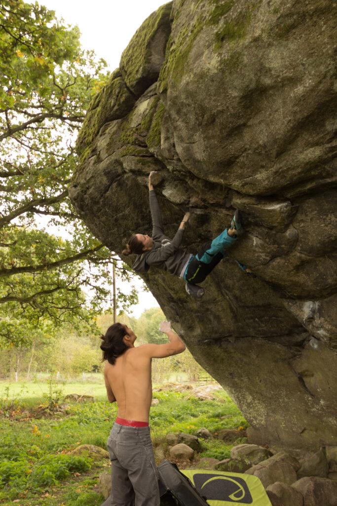 Photo: Magnus Cederberg, Climber: Cornelia Lindberg