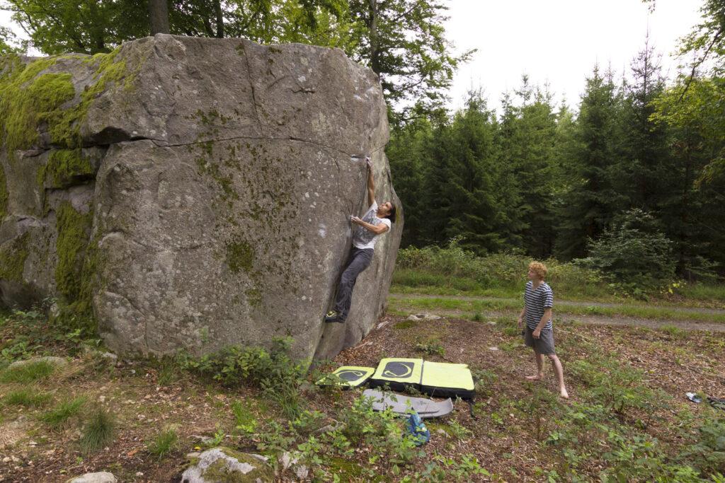 Photo: Magnus Cederberg, Climber: Marcello Mårtensson