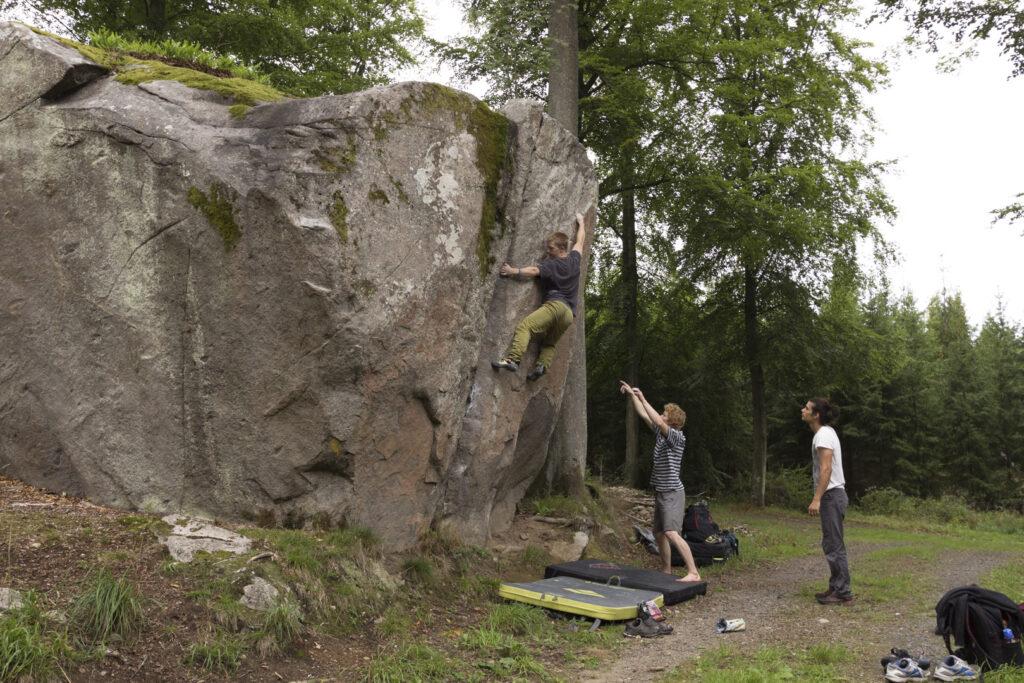 Photo: Magnus Cederberg, Climber: Anton Lameksson