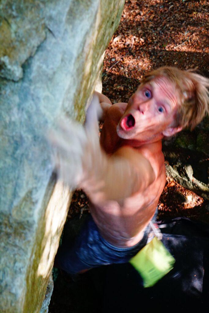 Photo: Jonas Liljegren, Climber: Petter Ulmert