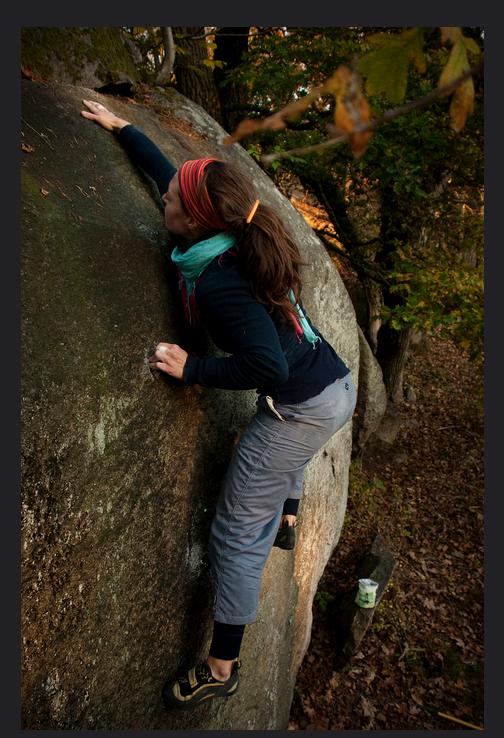 Photo:  Camilla Hylleberg, Climber: unknown