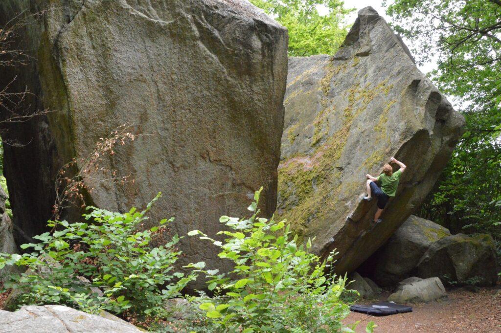 Photo: Fredrik Nilsask, Climber: Carl Nilsask
