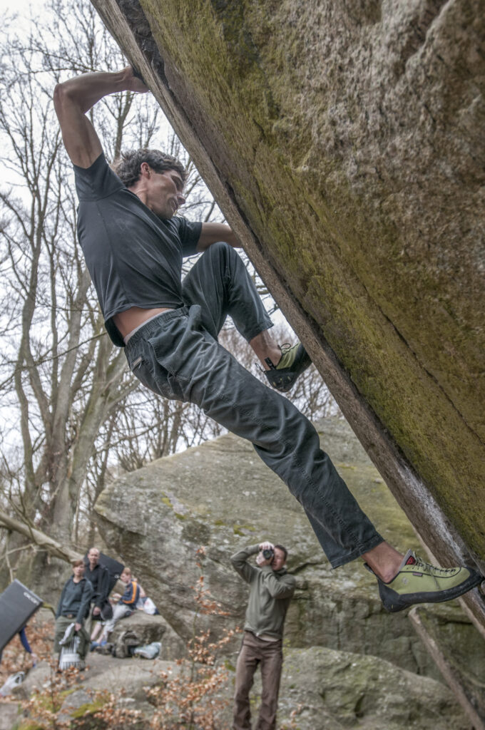 Photo: Erik Karlsson, Climber: Daniel Ehmann