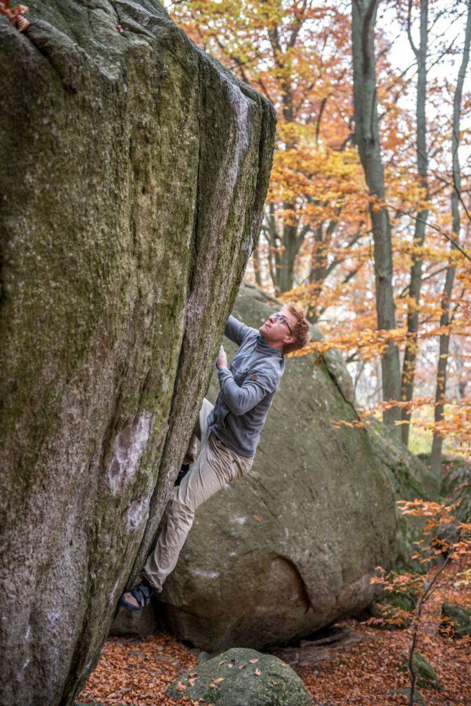 Photo: Erik Karlsson, Climber: Truls Larsen