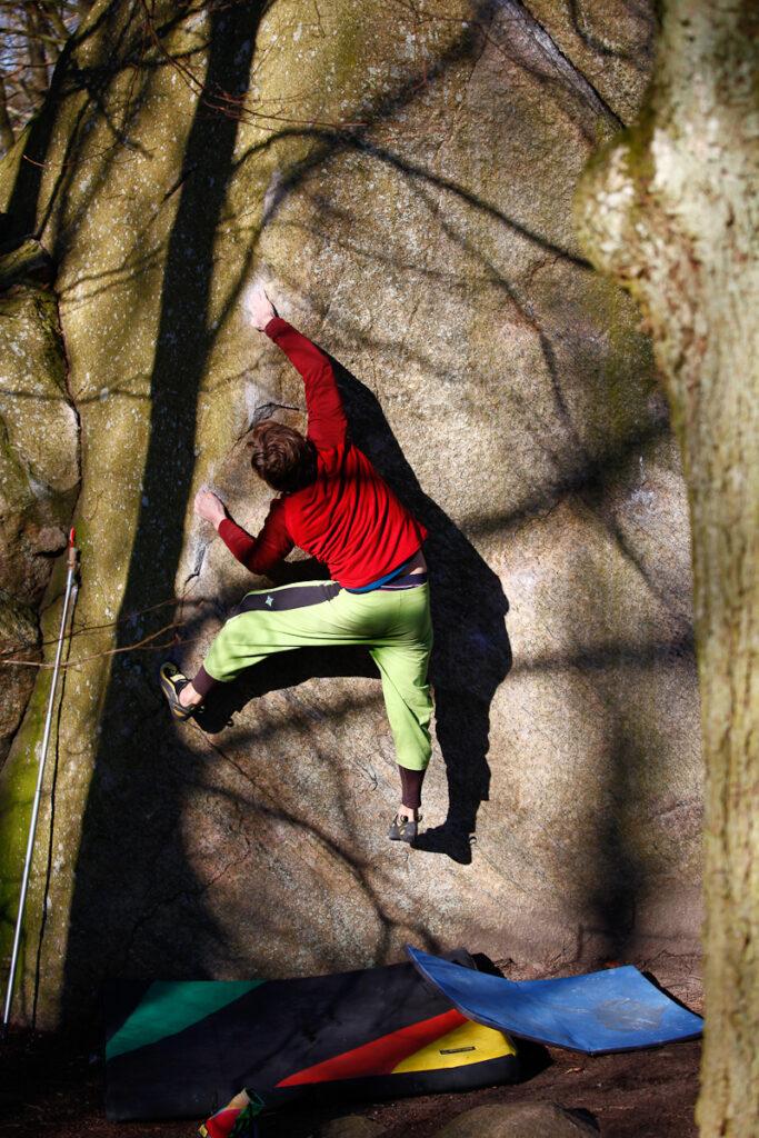 Photo: Fredrik Rapp, Climber: Jonas Nilsson
