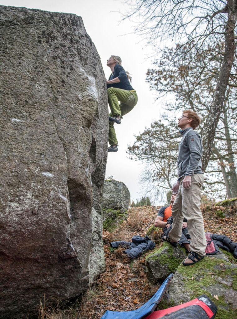 Photo: Erik Karlsson, Climber: unknown