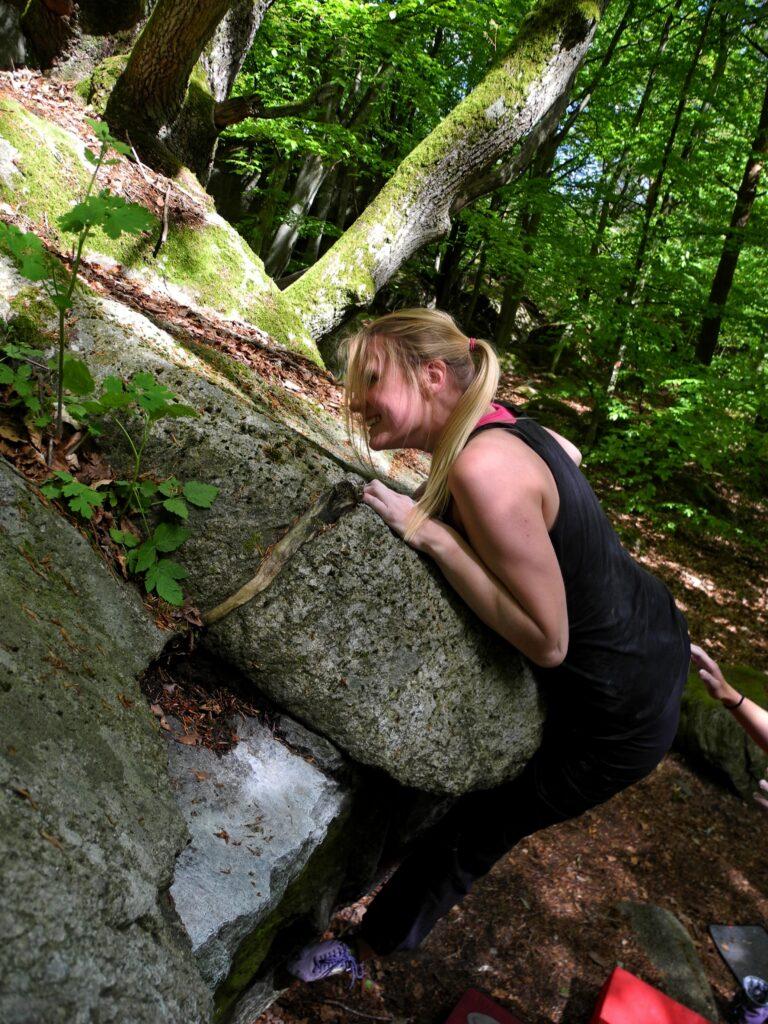 Photo: Bernhard Viehweger, Climber: Linnea Andersson