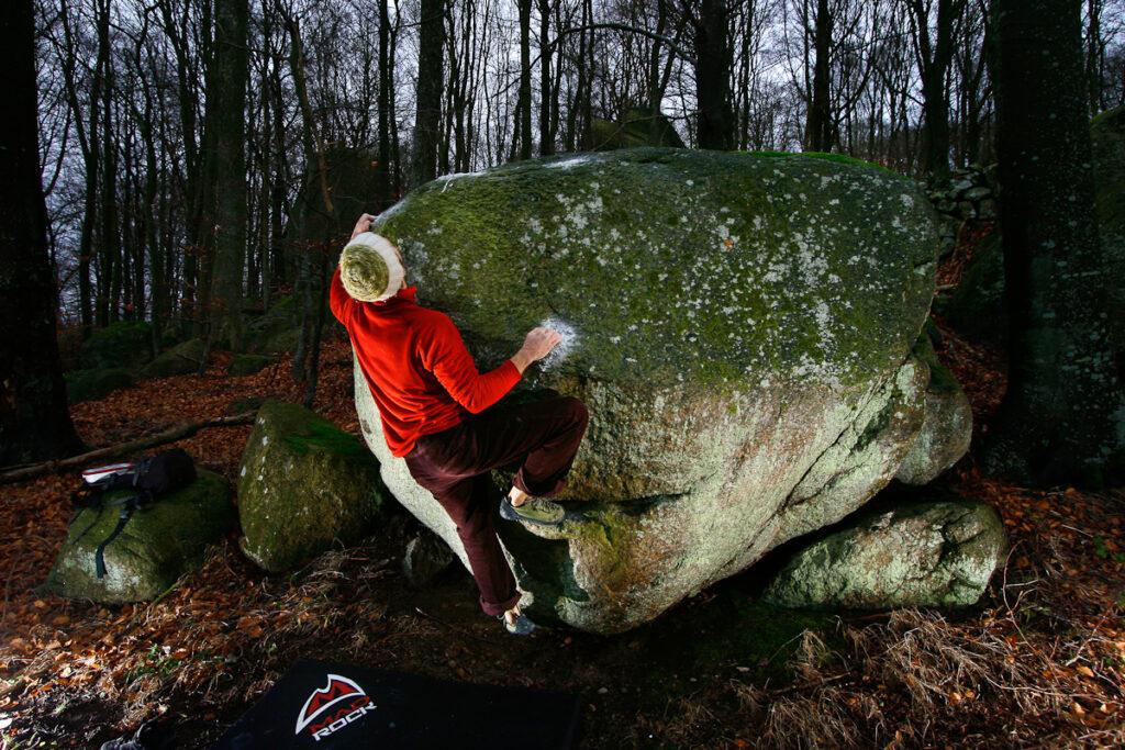 Photo: Fredrik Rapp, Climber: Peter Schön