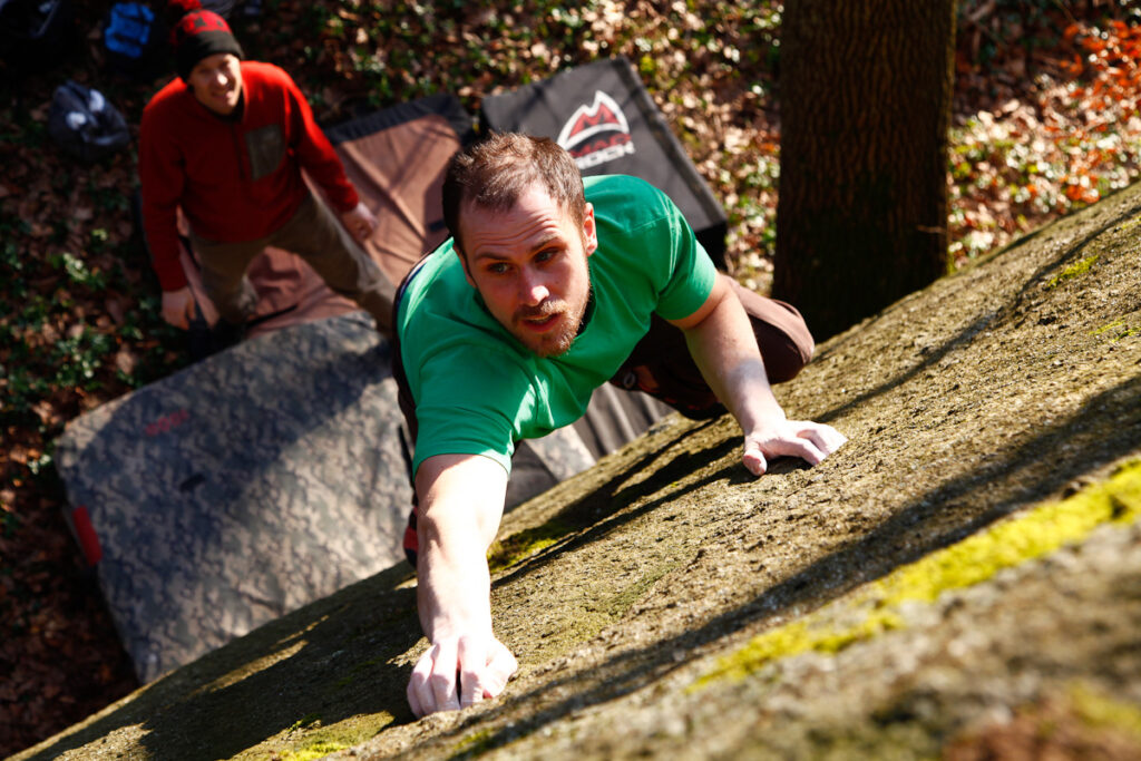 Photo: Fredrik Rapp, Climber: Henrik Sundahl