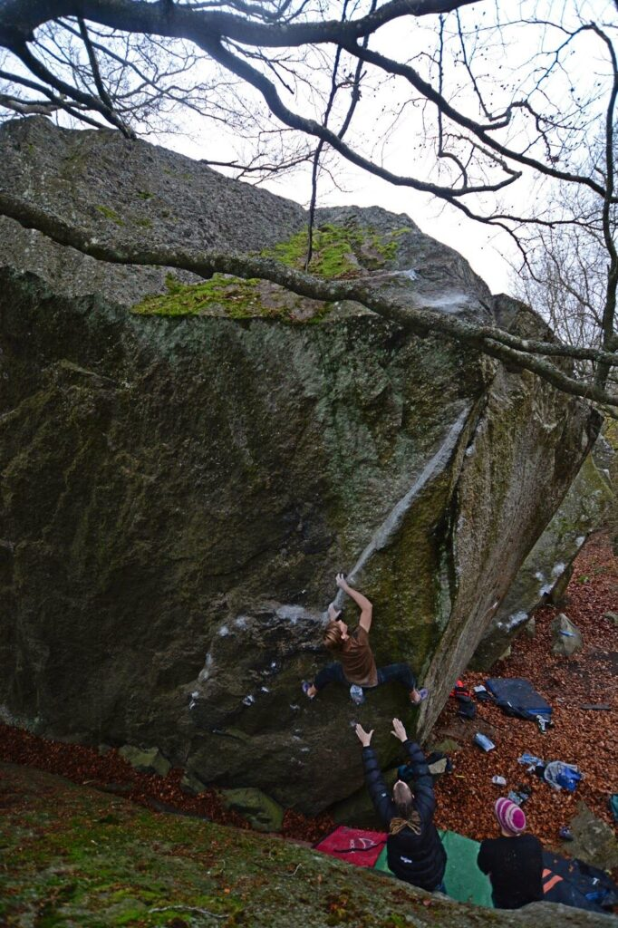 Photo: Benjamin Linné Ryn, Climber: Jonathan Linné Ryn