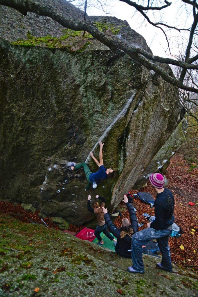 Photo: Benjamin Linné Ryn, Climber: Aleksej Jaruta