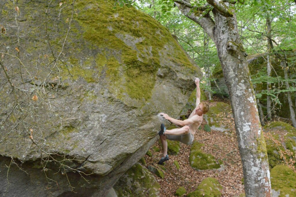 Photo: Fredrik Nilsask, Climber: Carl Nilsask