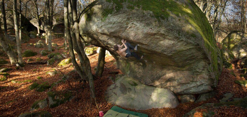 Photo: Niklas Raynbeau, Climber: Erik Grandelius