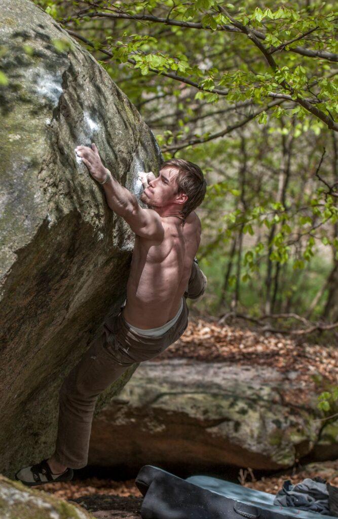 Photo: Erik Karlsson, Climber: Johan Andersson