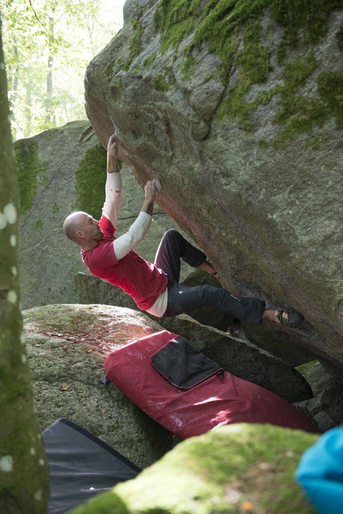 Photo: Erik Karlsson, Climber: Peter Mårdklint