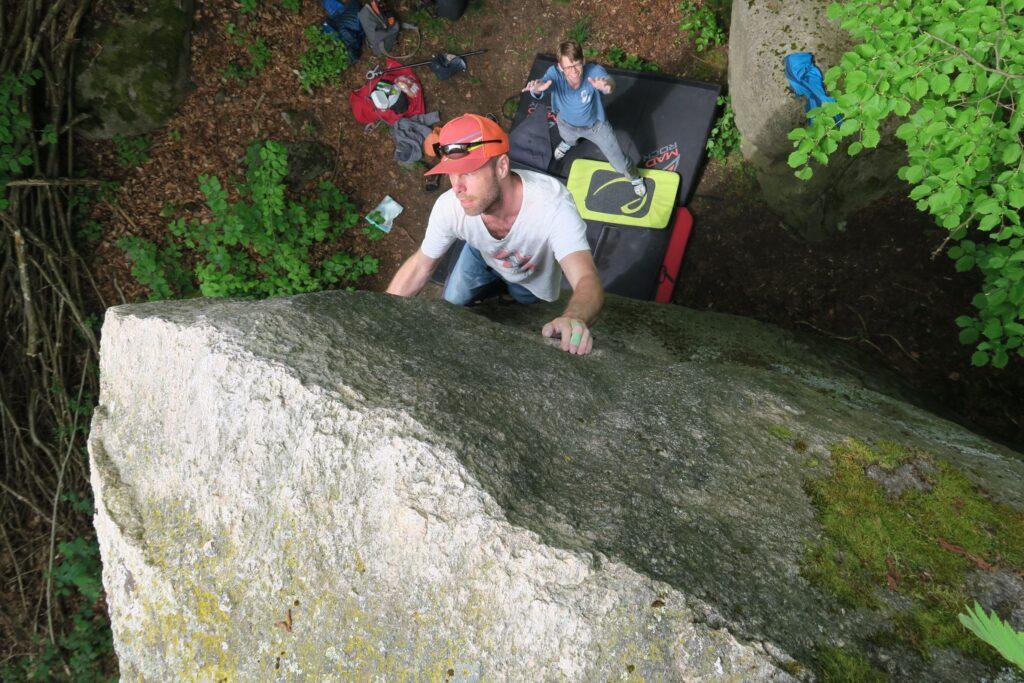 Photo: Jan Sander, Climber: Jonas Persson