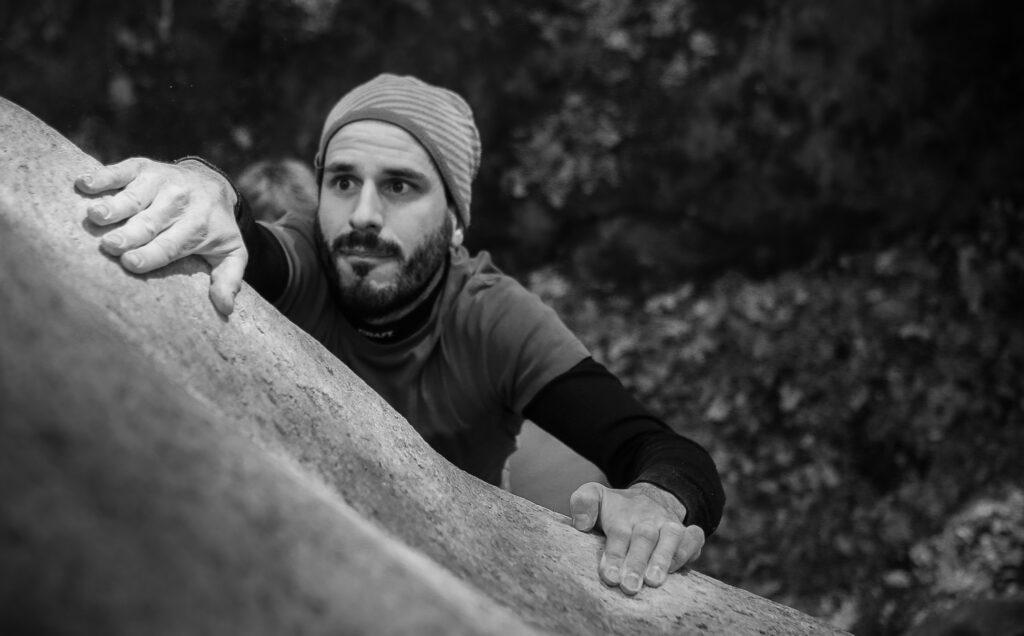Photo: Jonas Persson, Climber: Dan Gärdenfors