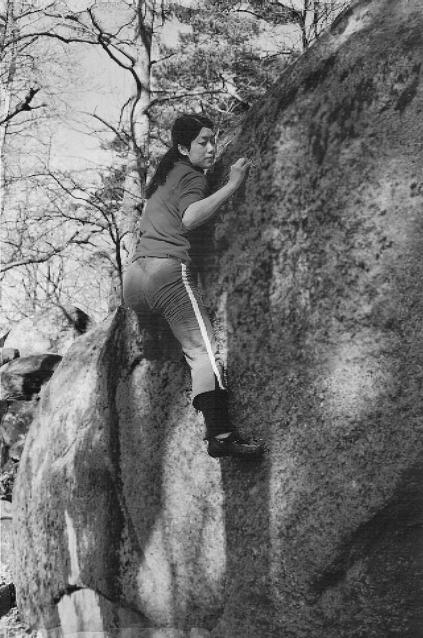 Climber: Christina Yu